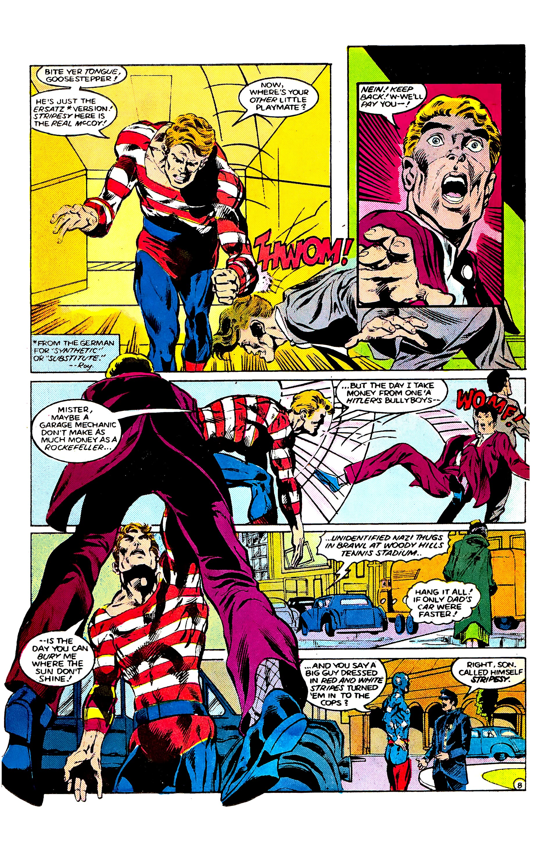 Read online Secret Origins (1986) comic -  Issue #9 - 11