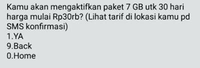 Paket Data Telkomsel Murah 7GB 30rb Terbaru 2017