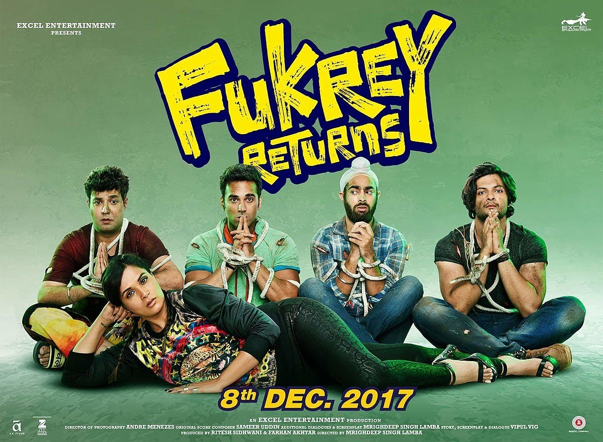 fukrey return full movie 2017 hd | latest bollywood movie 2018