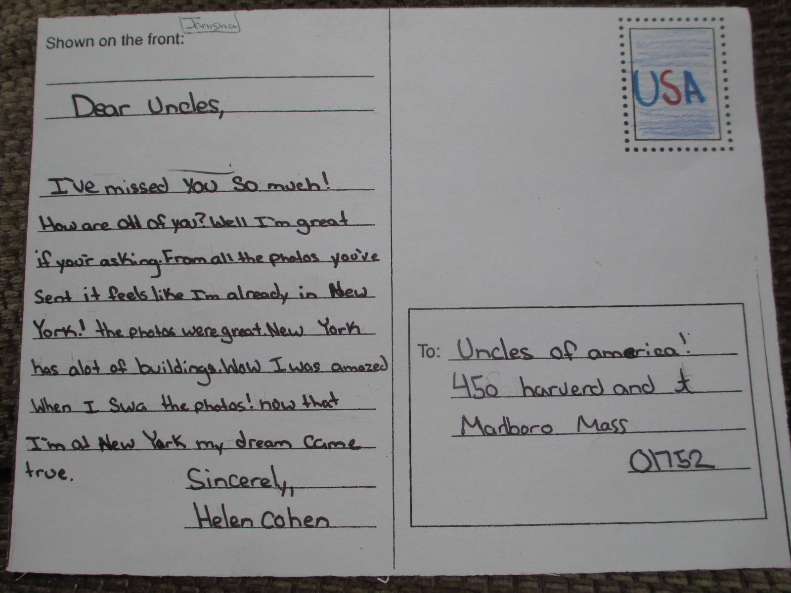 Mrs Hall S Classroom Blog Postcards From Ellis Island