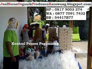 Agen Jual beras organik asli karawang harga distributor murah
