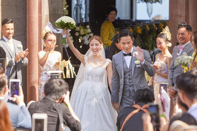 Kevin Cheng Grace Chang 2018 wedding