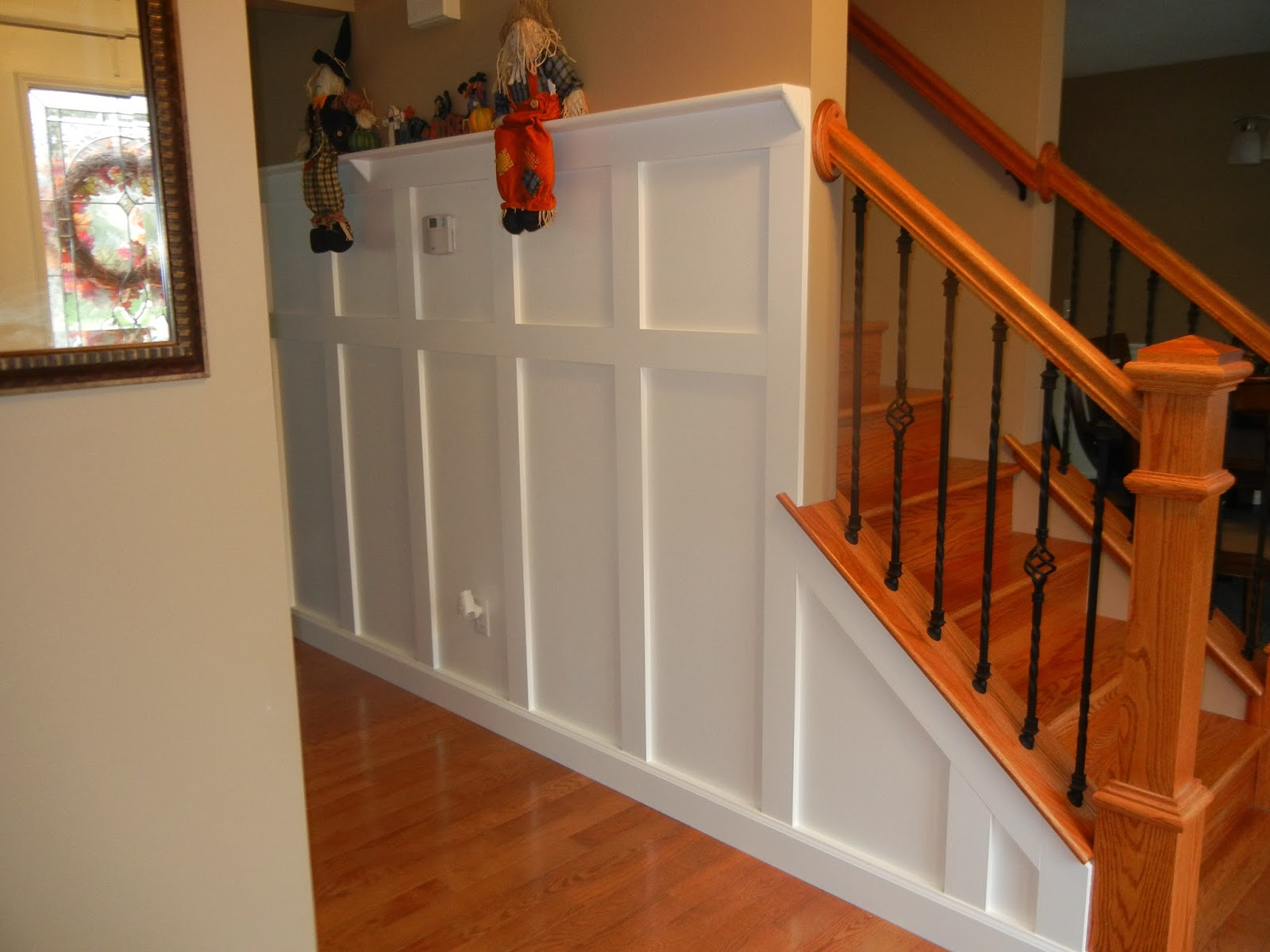 Diy Midwest Home Renovation Designing Wainscot Wall Trim