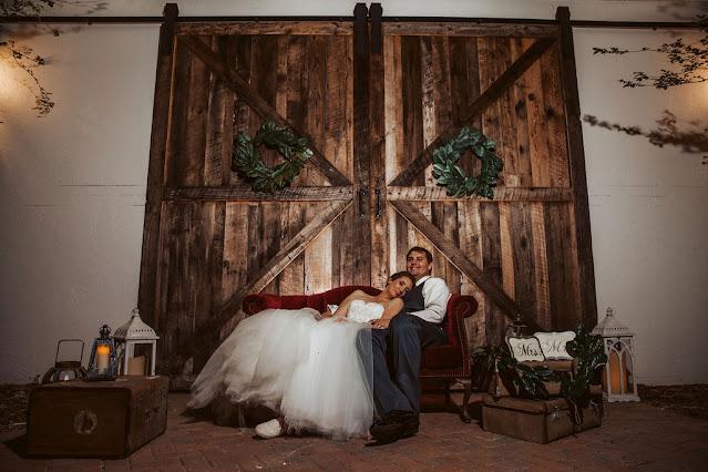 Rustic charm wedding props