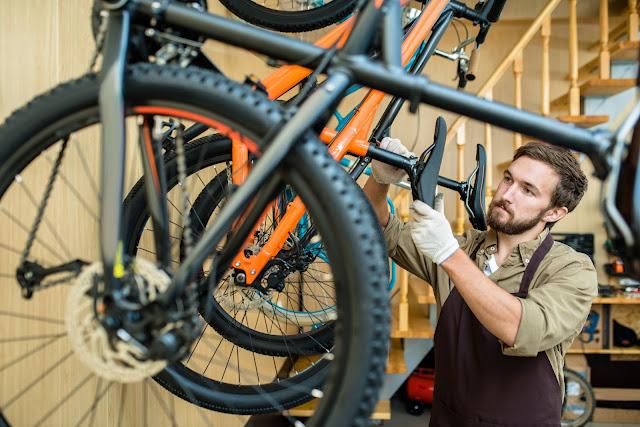 売上増加達成の自転車屋