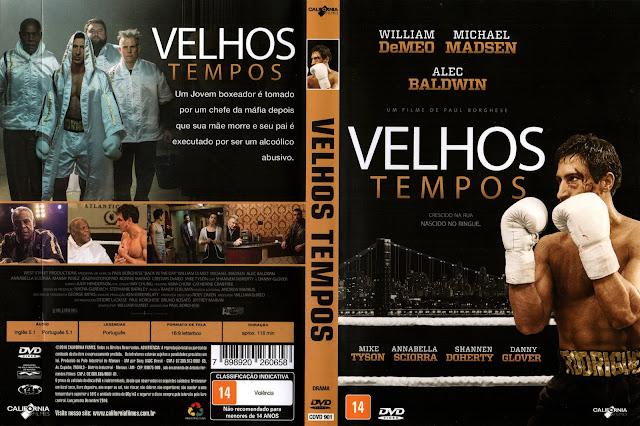 Capa DVD Velhos Tempos
