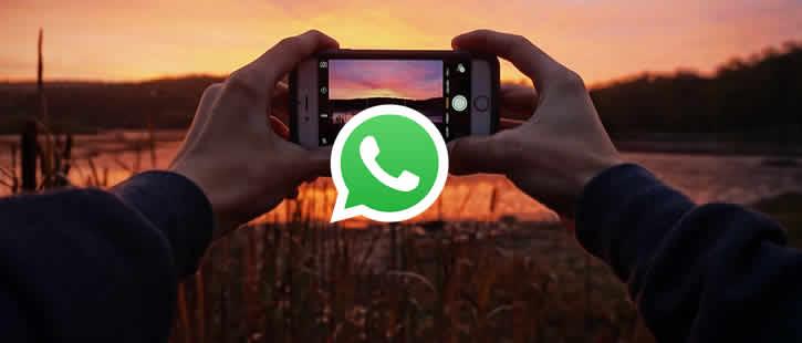 Enviando fotos ou vídeos no WhatsApp sem perder a qualidade