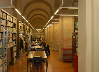 Biblioteca Malatestiana -  navate