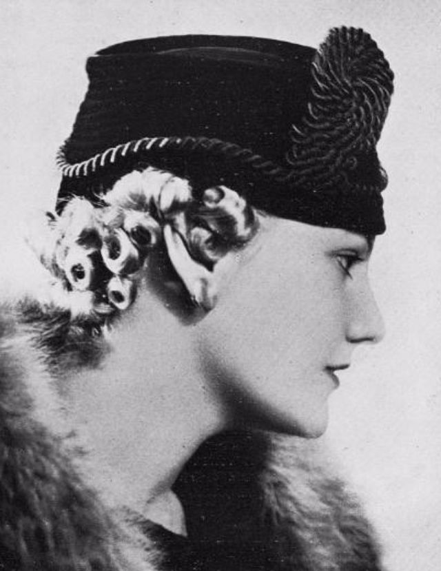 ... the 1930s was the period of hat styles. They were not only beautiful cd9cd3fb942