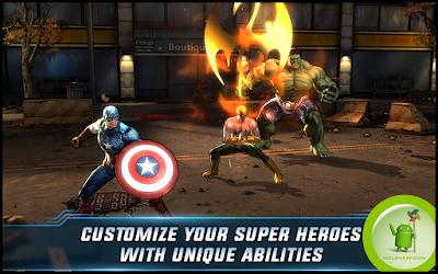 تحميل لعبة المنتقمون Avengers Alliance مهكرة