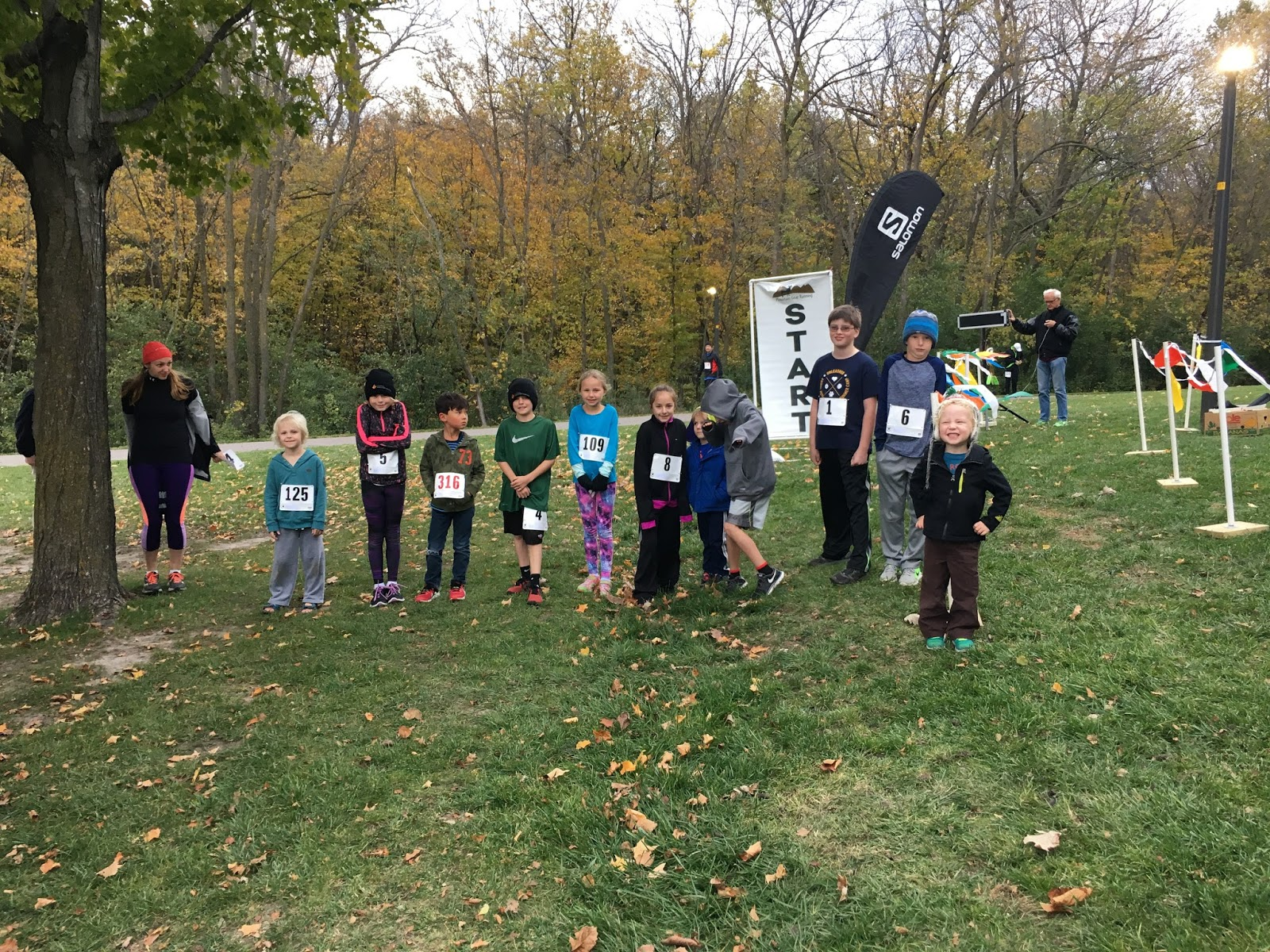 salomon running trail series