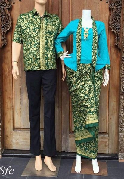 Koleksi Baju Muslim Batik Sarimbit Modern Untuk Ke Acara