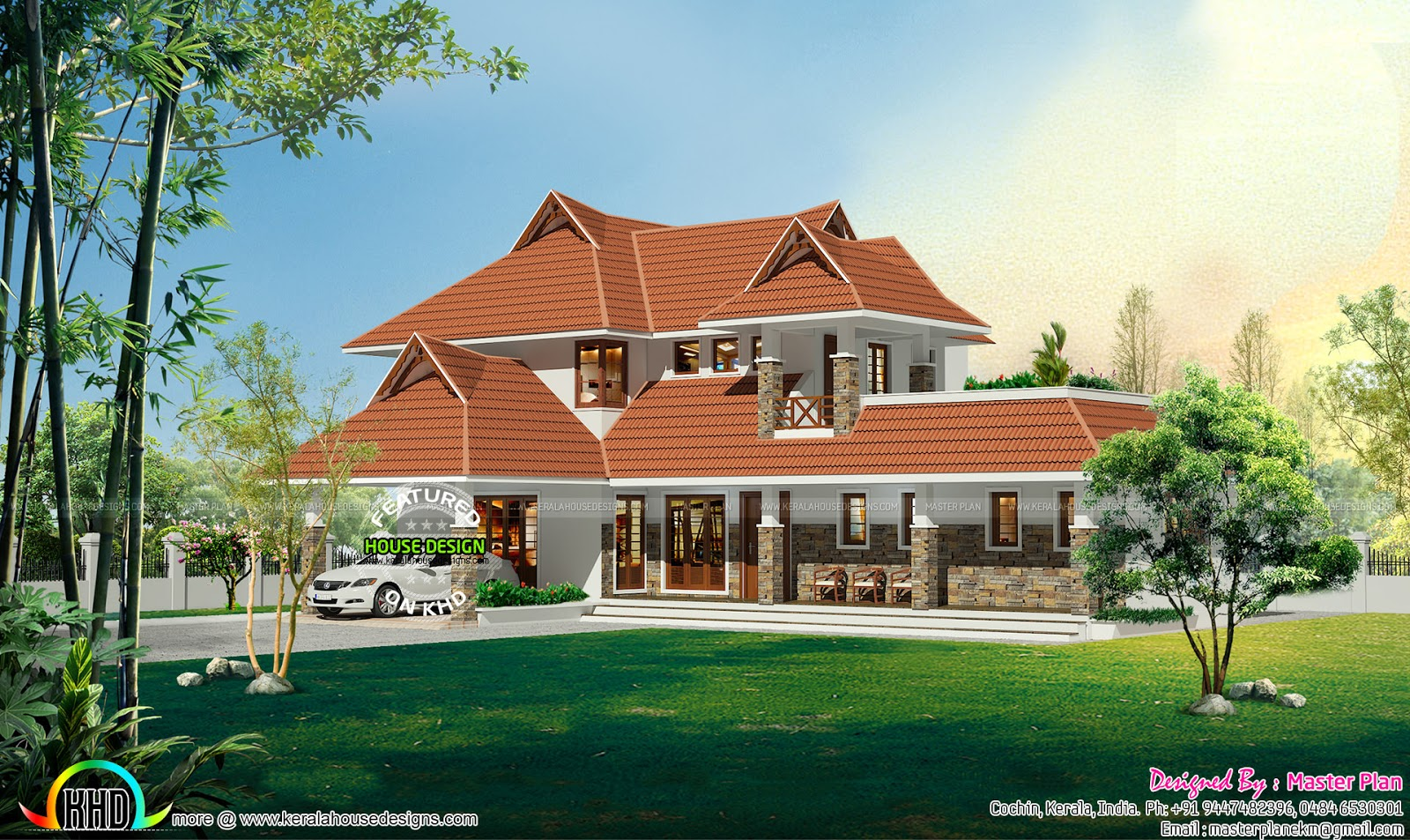 Traditional roof kerala home kerala home design and floor plans - Traditional houses attic ...