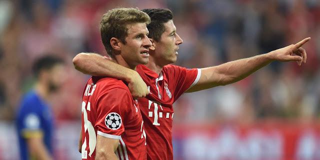 Bayern Patahkan Rekor Manchester United