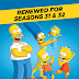 'The Simpsons' Renewed For Seasons 31 & 32 By Fox