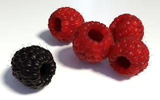 Fruta frambuesa