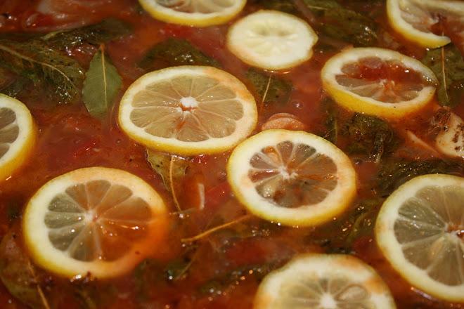 Sardines à l'escabèche façon pieds noirs, à la tomate