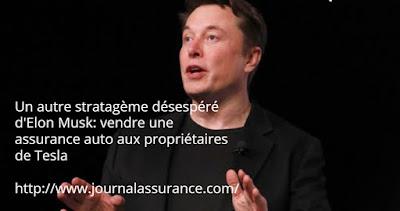 vendre une assurance auto aux propriétaires de Tesla