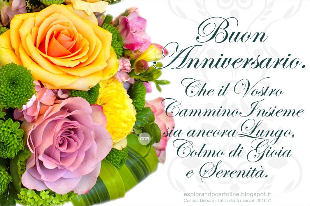 Cdb Cartoline Per Tutti I Gusti Cartolina Buon Anniversario