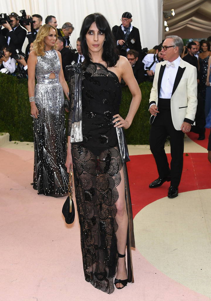 Jamie Bouchert at the 2016 MET Gala