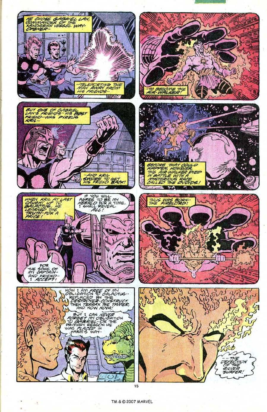 Read online Silver Surfer (1987) comic -  Issue #19 - 17