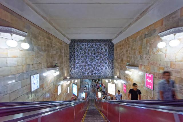 Metro von Taschkent, Usbekistan
