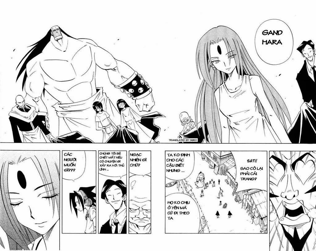 Shaman King [Vua pháp thuật] chap 231 trang 15