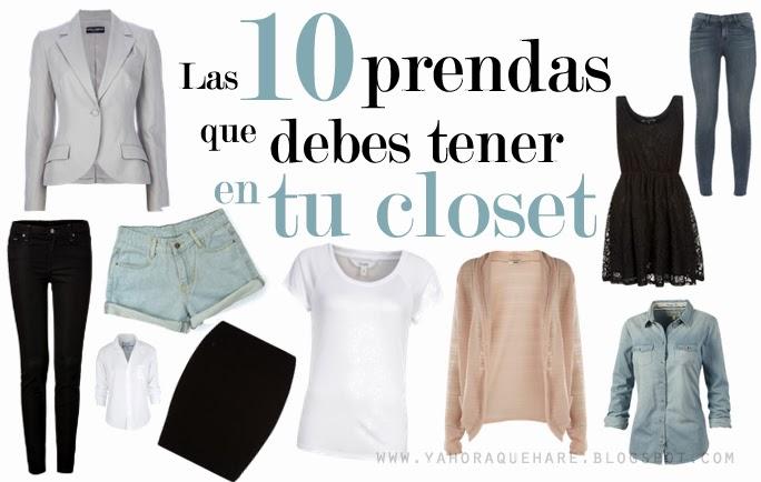 06acba669  Y ahora cómo  Las 10 prendas básicas que debes tener en tu closet