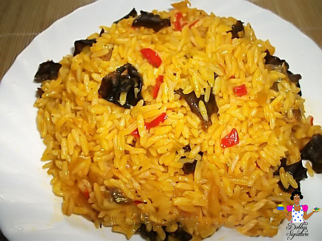 Image result for palm oil rice nigeria