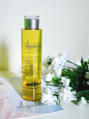 Hedvábný suchý olej od OLIGODERMIE pro hedvábnou pleť