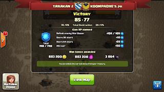 Clan TARAKAN 2 vs KOOMPRADE's.ph., TARAKAN 2 Victory