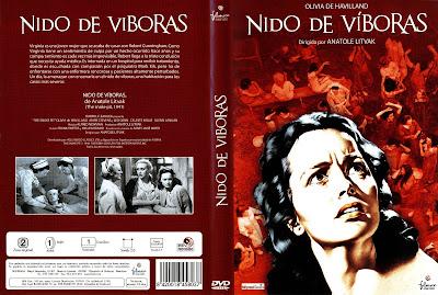 Carátula - Nido de víboras - Olivia de Havilland