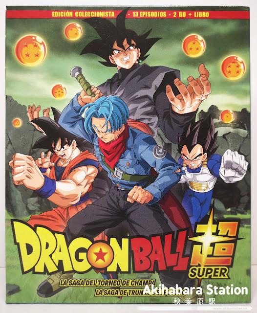 Review de Dragon Ball Super Box 4: El Torneo de Champa / La Saga de Trunks del Futuro Edición Coleccionista