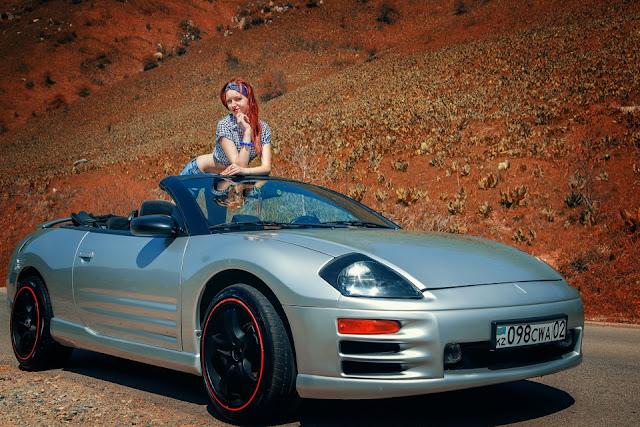 Mitsubishi Eclipse 3G, D50, spyder, samochody bez dachu
