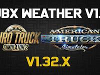 JBX Weather v1.1 untuk ATS - ETS2