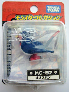 Swellow Pokemon figure Takara Tomy Monster Collection MC series