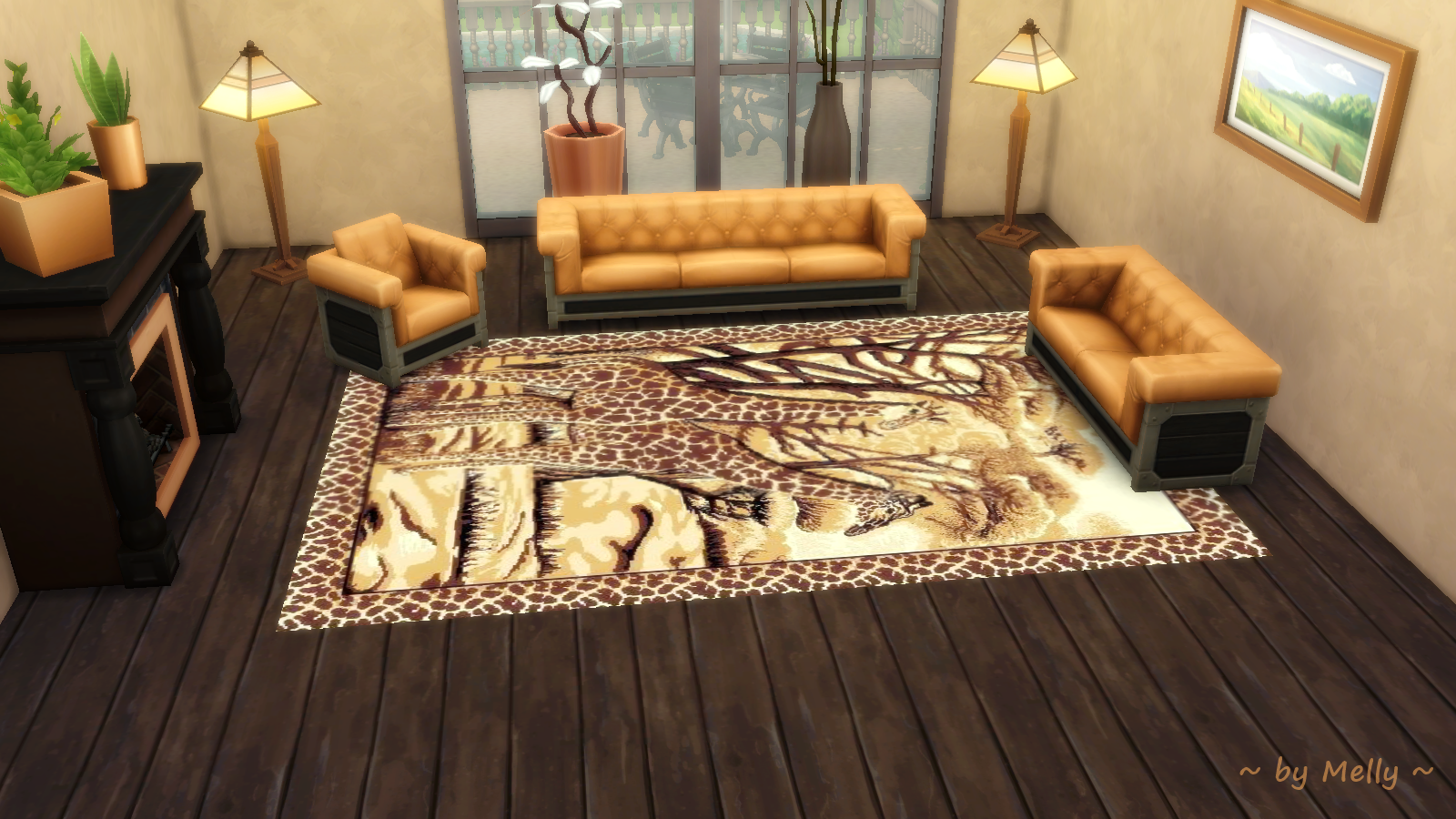 Sims 2 Teppiche Sims Houses By Melly Rugs 008 Afrika Style