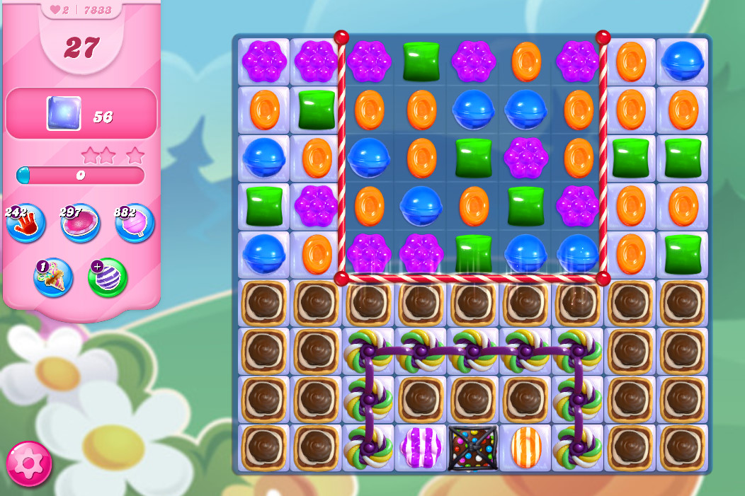 Candy Crush Saga level 7833