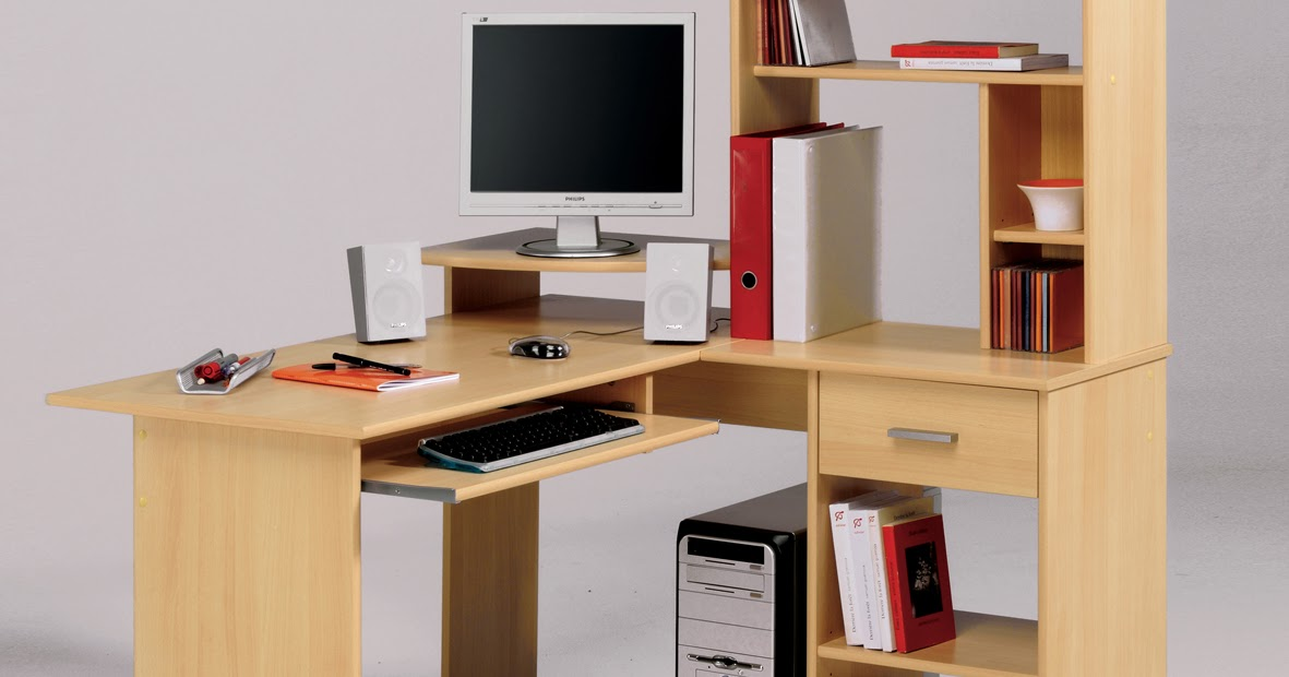 Corner Computer Table Designs: Rudy: Easy Corner Computer Desk Design Plans Wood Plans US