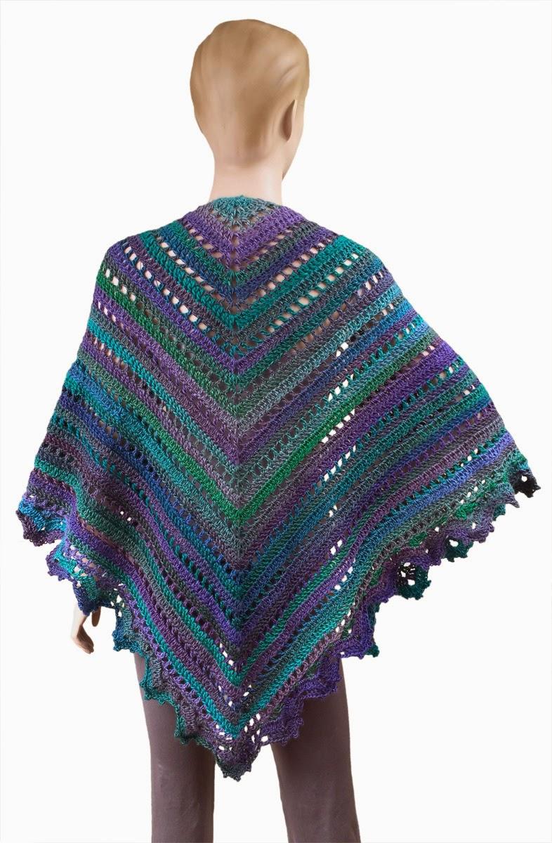 Carolyn Christmas Designs: Penelope Shawl pattern