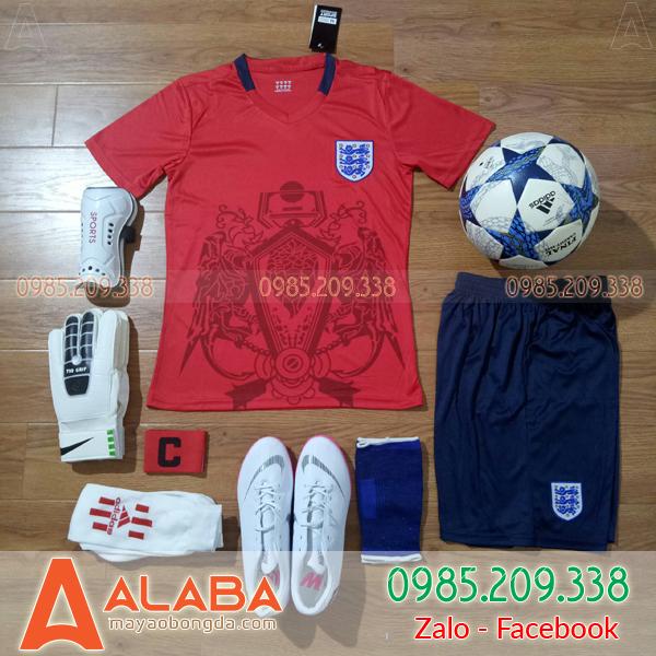 Áo bóng đá đội tuyển Anh Fan 2019 Màu Đỏ