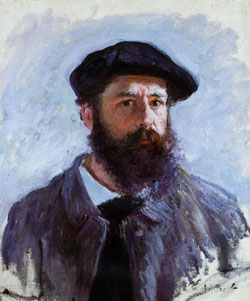 Autoportrait au béret de Claude Monet 1886