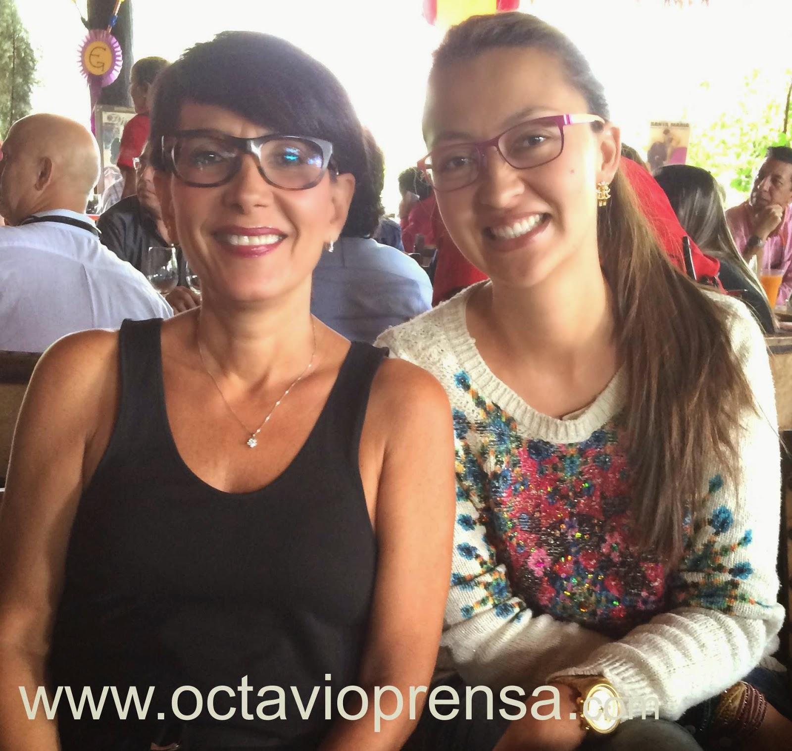 Adriana Monsalve Esposo Marta Calad y Luz Adriana