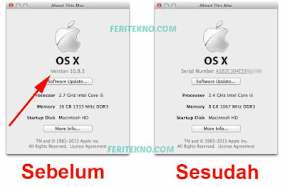 Cara Cek Serial Number Macbook Pro dan Macbook Air 5