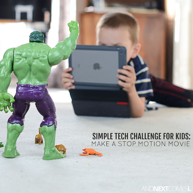 Simple tech challenge for kids