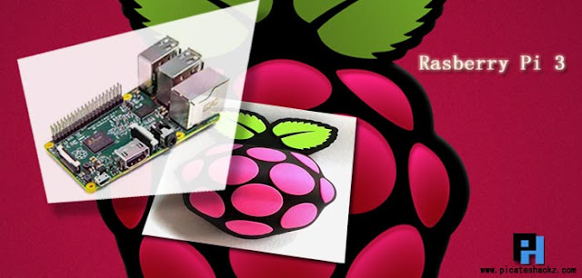 Rasberry Pi 3 with Built-in Wi-Fi and Bluetooth - picateshackz.com
