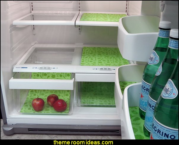 Washable Refrigerator Liners kitchen accessories - fun kitchen decor - decorative themed kitchen  - novelty mugs - kitchen wall decals - kitchen wall quotes - cool stuff to buy - kitchen cupboard contact paper -  kitchen storage ideas - unique kitchen gadgets - food pillows
