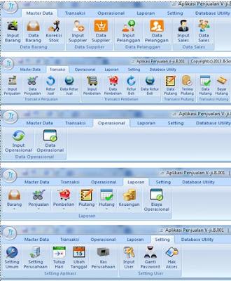 Program Aplikasi Yang Digunakan Untuk Database Adalah : program, aplikasi, digunakan, untuk, database, adalah, Program, Aplikasi, Penjualan, Distributor