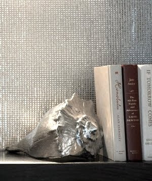 silver shell bookend