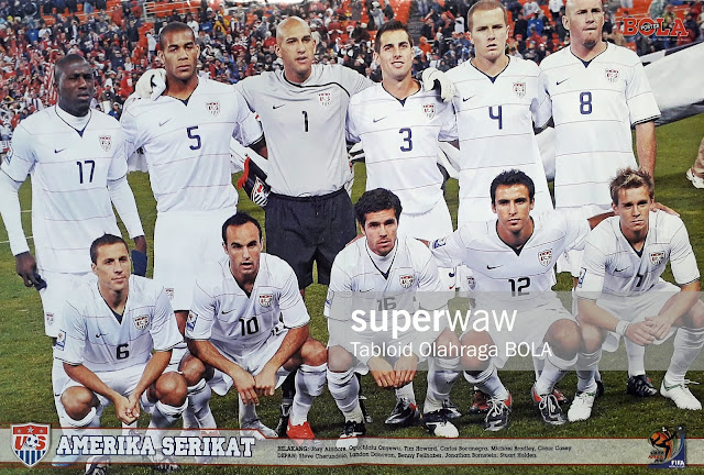 USA TEAM SQUAD WORLD CUP 2010
